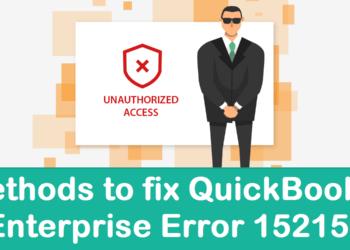 QuickBooks Enterprise Error 15215