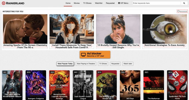 Rainierland website