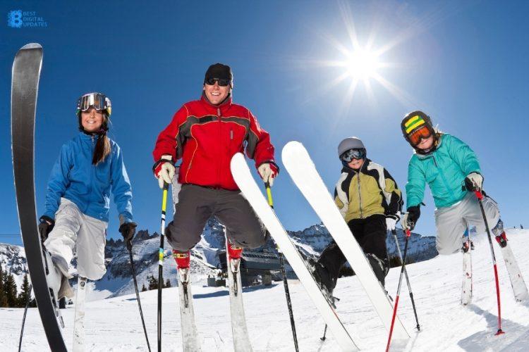 Beginner Ski Lesson